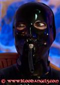Black masked teen slavegirl.