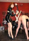 Cruel spanking Mistress