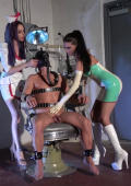 Two kinky Latex Nurses having fun